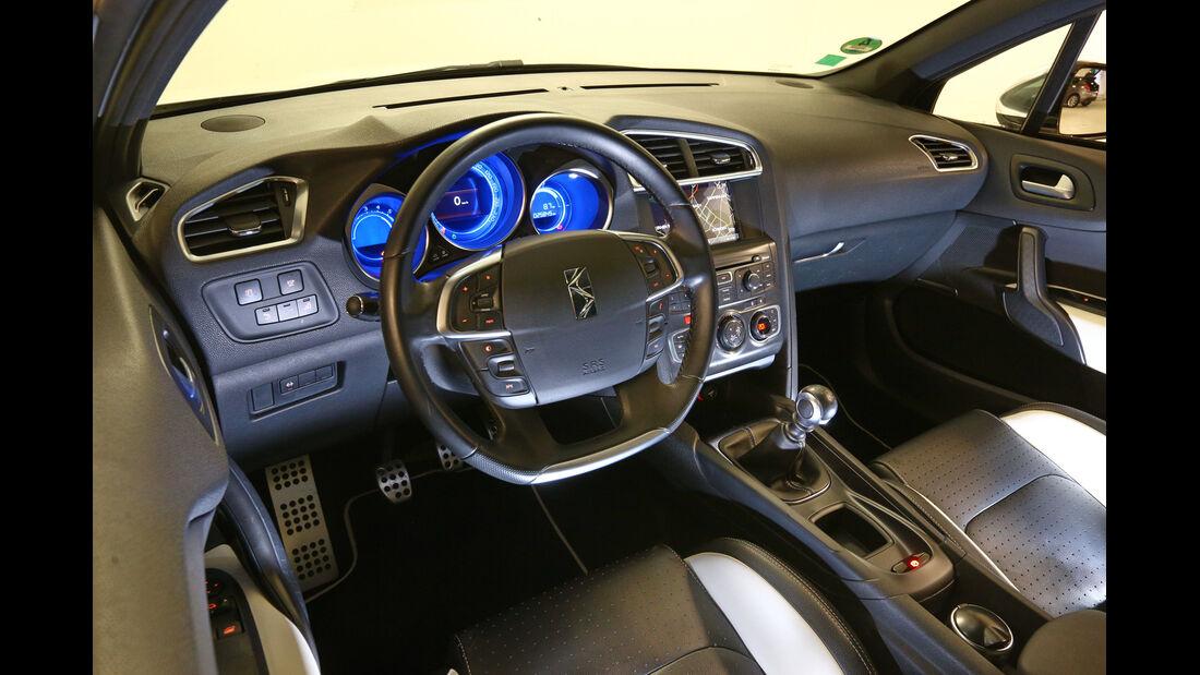 Citroën DS4, Cockpit, Lenkrad