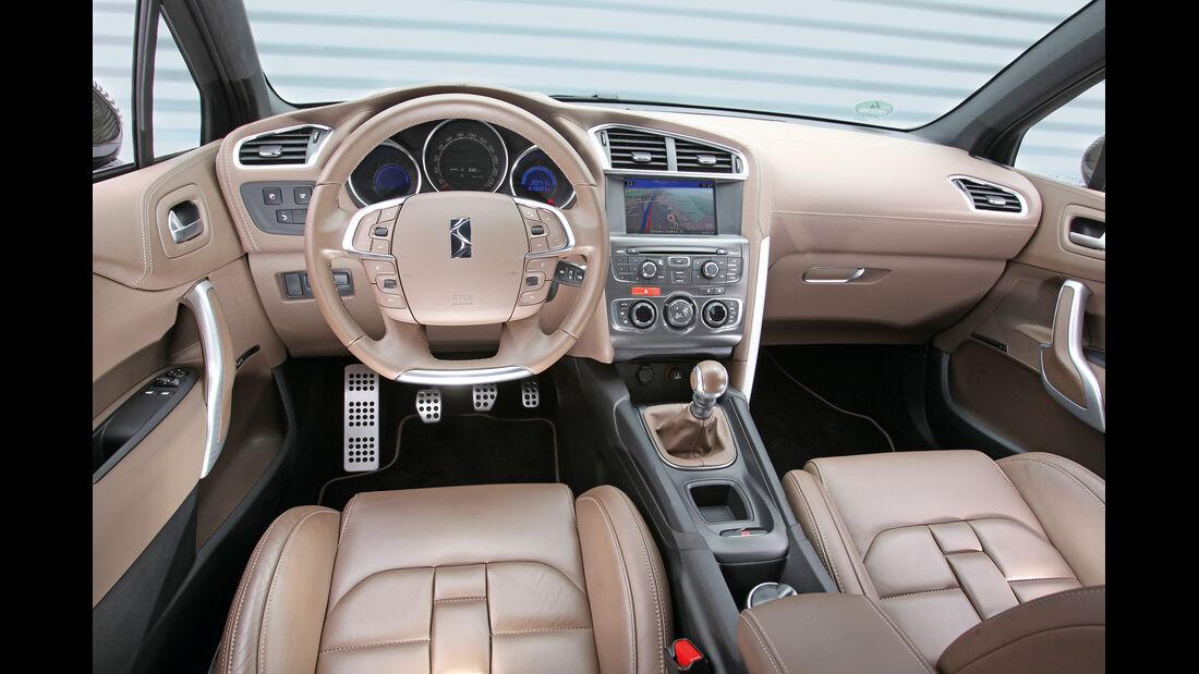 Citroën DS4 THP 200, Cockpit, Lenkrad