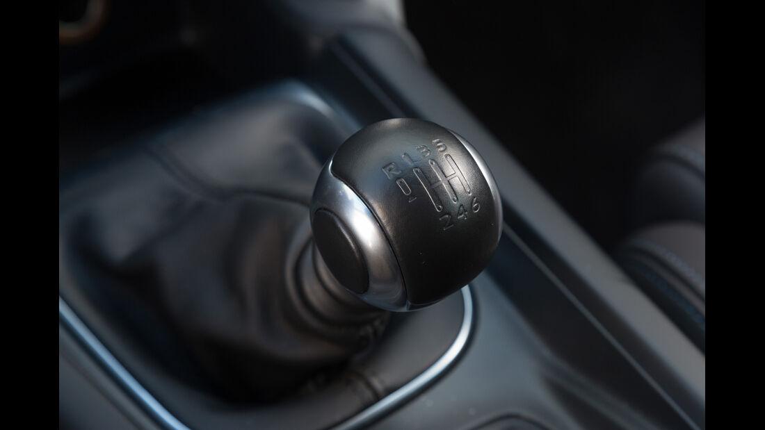Citroën DS4 THP 200, Schalthebel