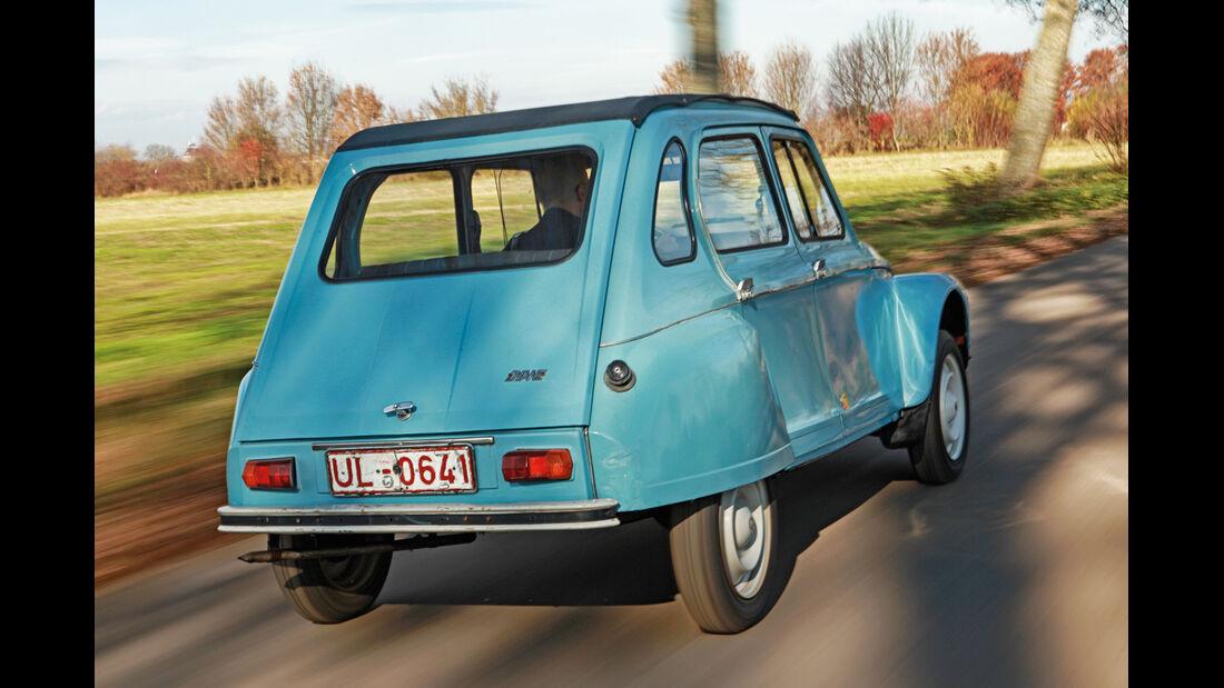 Citroën Dyane 4, Heckansicht