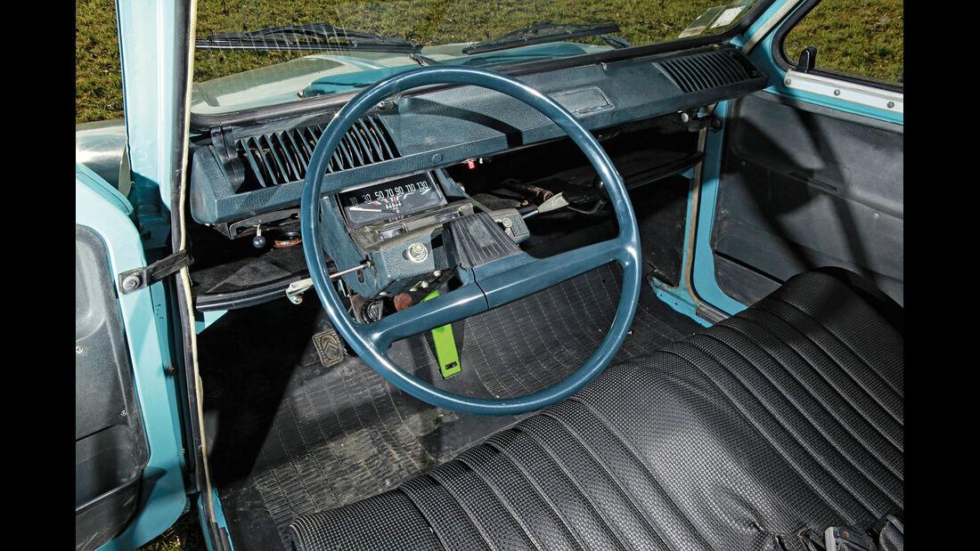 Citroën Dyane, Cockpit