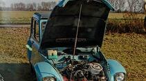 Citroën Dyane, Motor