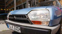 Citroën GS/GSA, Frontscheinwerfer