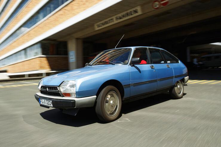 Citroën GS/GSA, Seitenansicht
