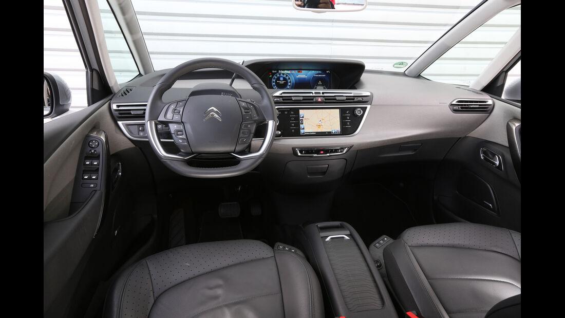 Citroën Grand C4 Picasso BlueHDi 150, Cockpit