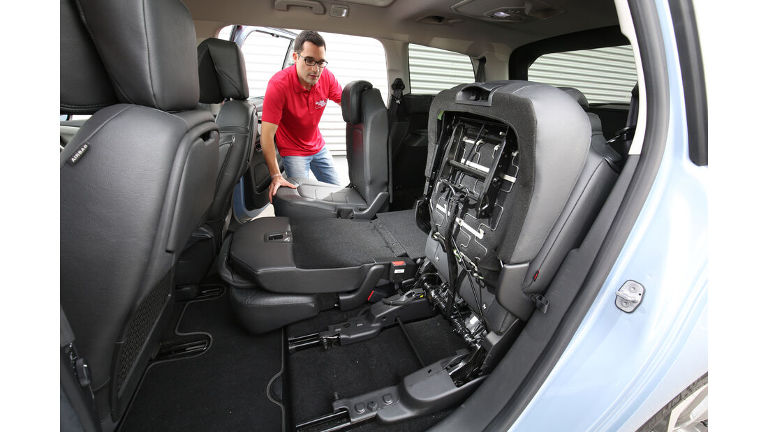 Citroën Grand C4 Picasso BlueHDi 150, Fondsitze