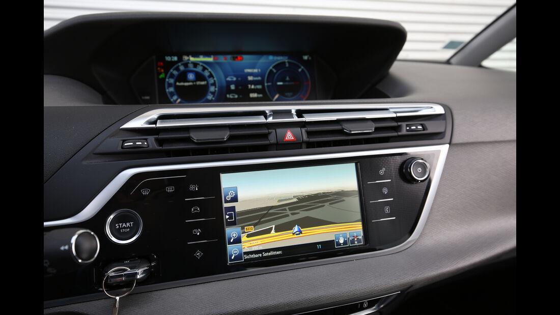 Citroën Grand C4 Picasso BlueHDi 150, Infotainment, Monitor