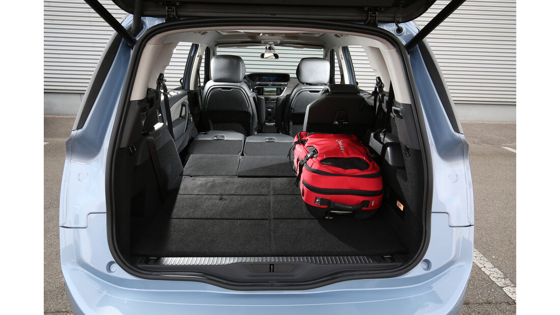 Citroën Grand C4 Picasso BlueHDi 150, Kofferraum