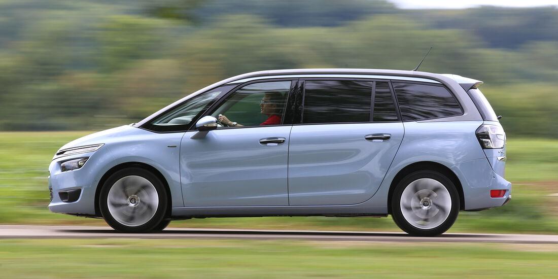 Citroën Grand C4 Picasso BlueHDi 150, Seitenansicht