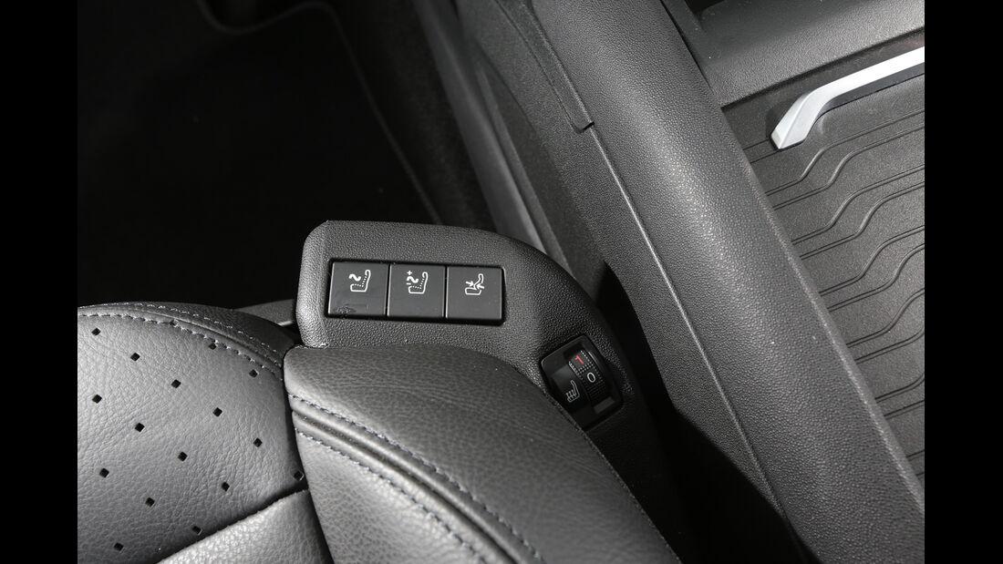 Citroën Grand C4 Picasso BlueHDi 150, Sitzeinstellung