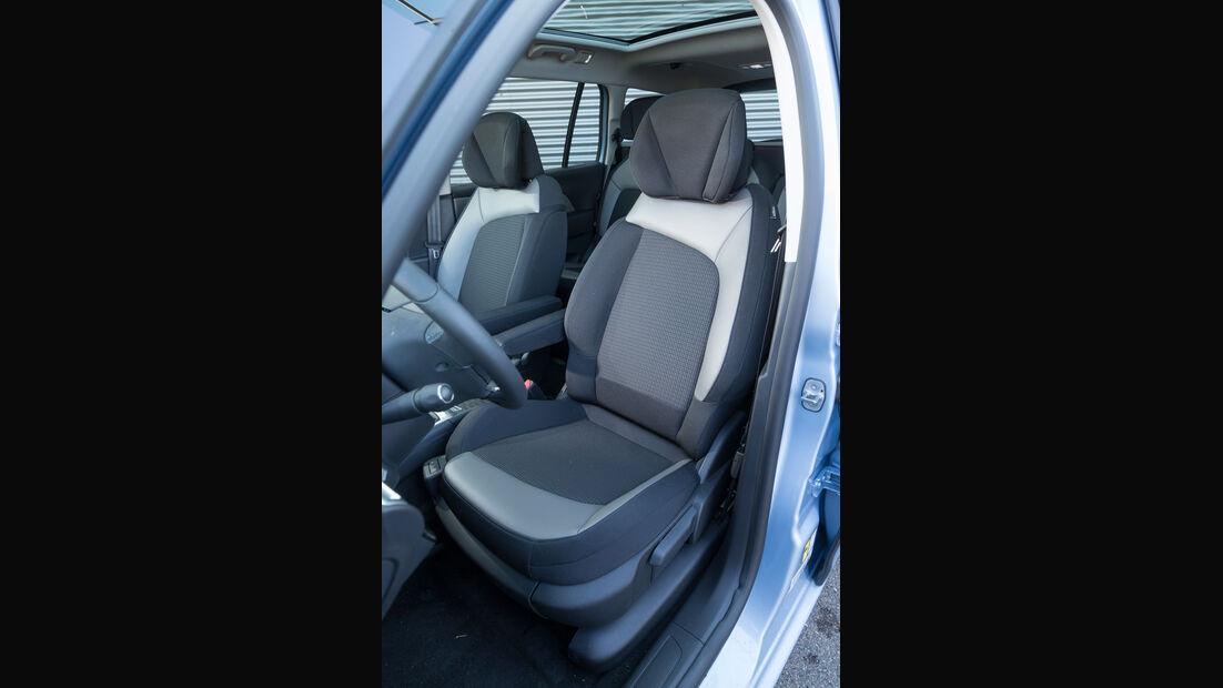 Citroën Grand C4 Picasso e-HDi 115 Intensive, Fahrersitz