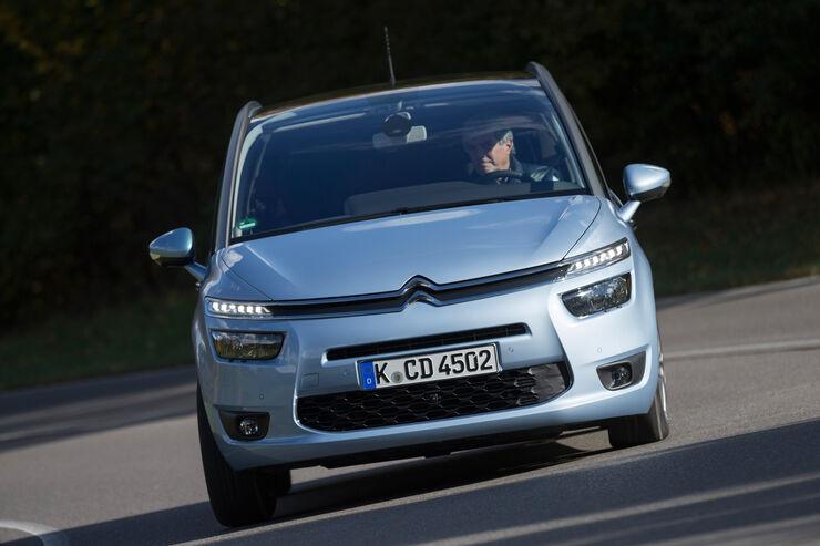 Citroën Grand C4 Picasso e-HDi 115 Intensive, Frontansicht