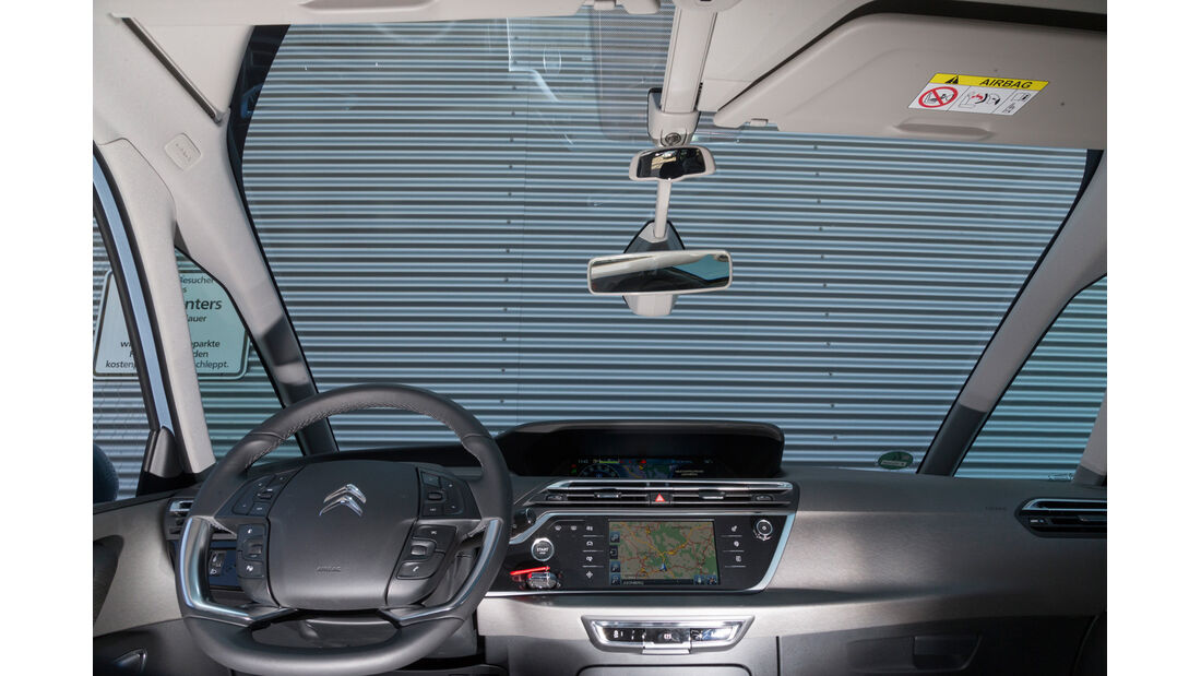Citroën Grand C4 Picasso e-HDi 115 Intensive, Frontscheinbe