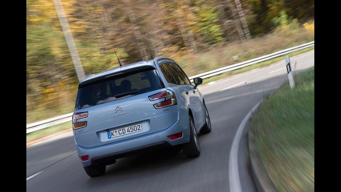 Citroën Grand C4 Picasso e-HDi 115 Intensive, Hecckansicht