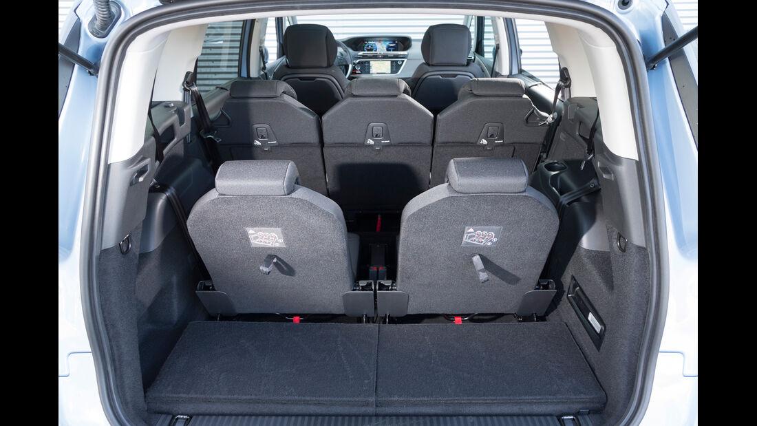 Citroën Grand C4 Picasso e-HDi 115 Intensive, Kofferraum