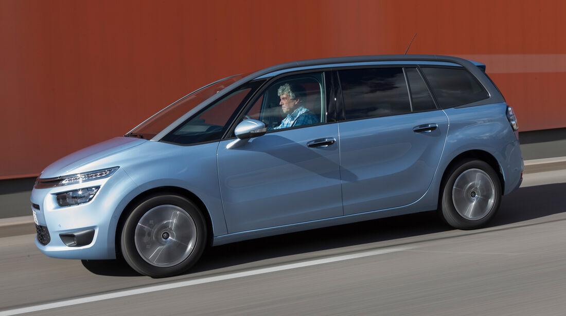 Citroën Grand C4 Picasso e-HDi 115 Intensive, Seitenansicht