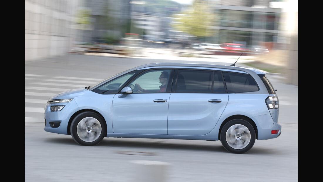 Citroën Grand C4 Picasso e-HDi 115, Seitenansicht