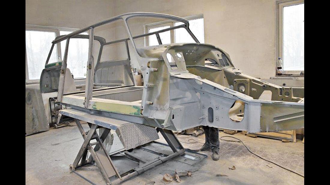 Citroën ID19F Break, Karosseriearbeiten