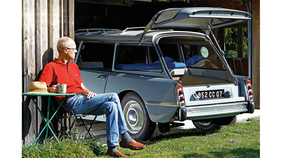 Citroën ID19F Break, Michael Wettel , Heckklappe
