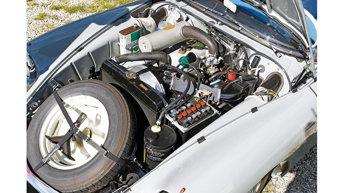 Citroën ID19F Break, Motor
