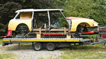 Citroën ID19F Break, Seitenansicht, Chassis