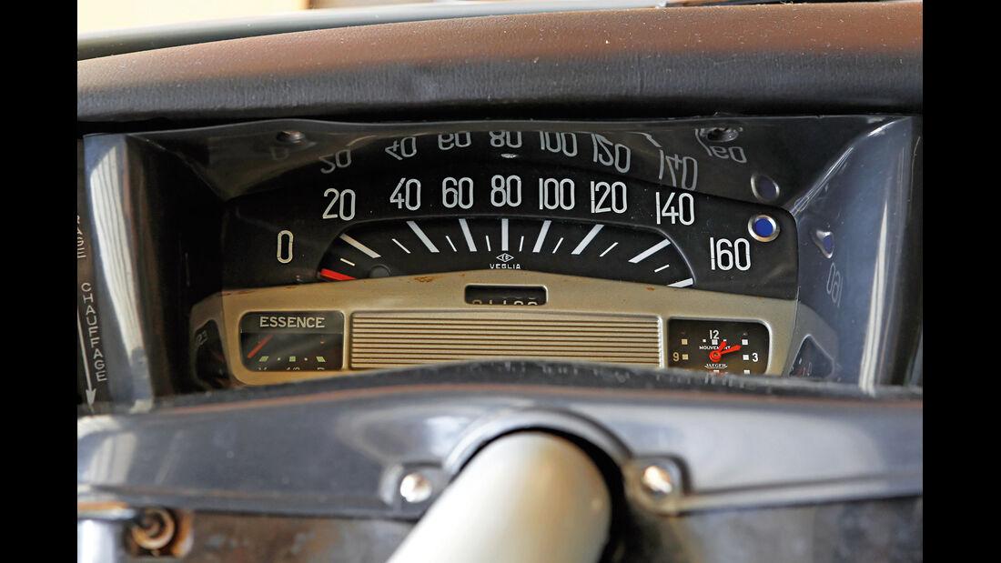 Citroën ID19F Break, Tacho