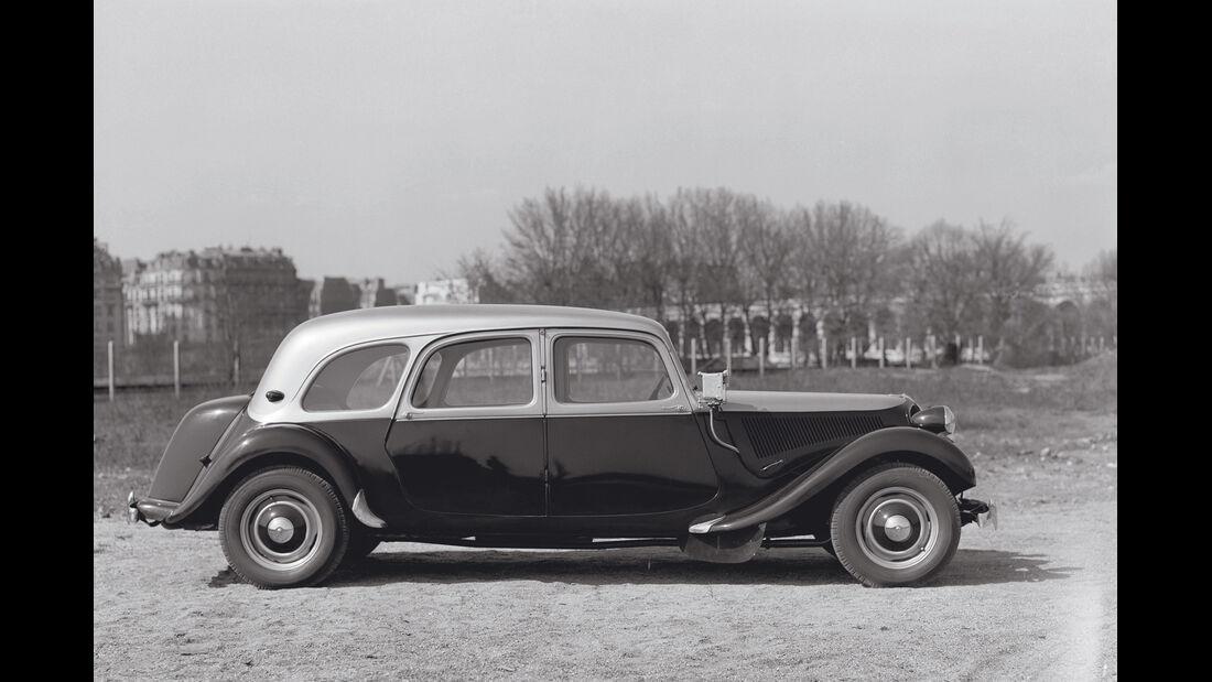Citroën Traction Avant Familiale, Seitenansicht