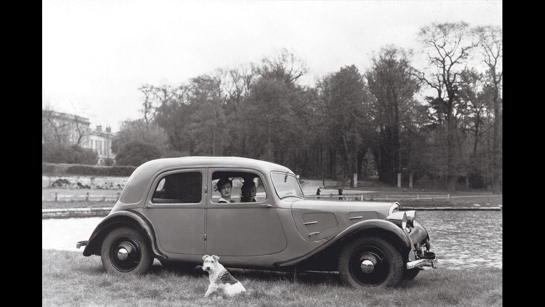 Citroën Traction Avant, Seitenansicht