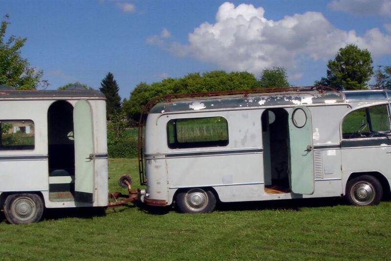 Citroën Type H Camping Car Barou (1953)