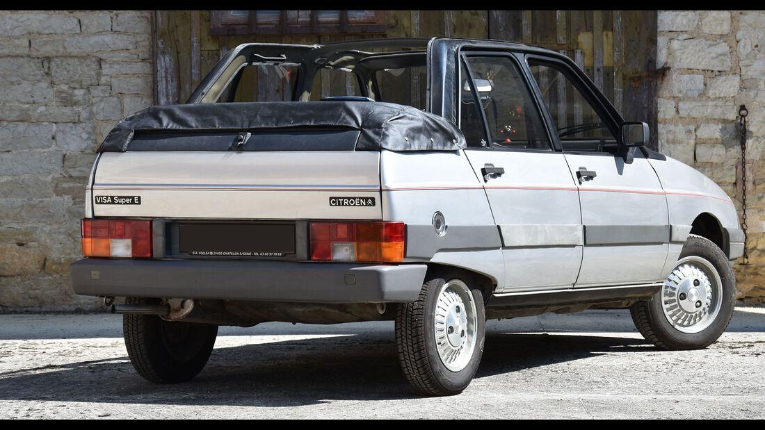 Citroën Visa Super E décapotable (1983)