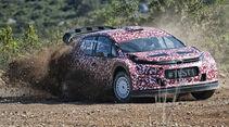 Citroën - WRC-Auto 2017 - Erprobung 2016