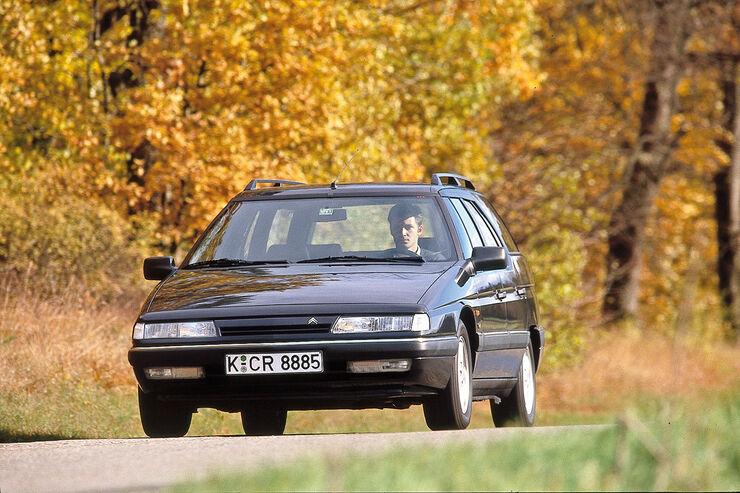 Citroën XM Break, Frontansicht