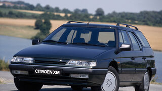 Citroën XM Break, Heckansicht