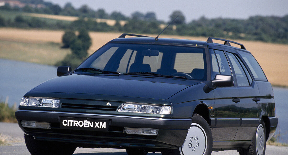 Citroën XM Break, Heckansicht