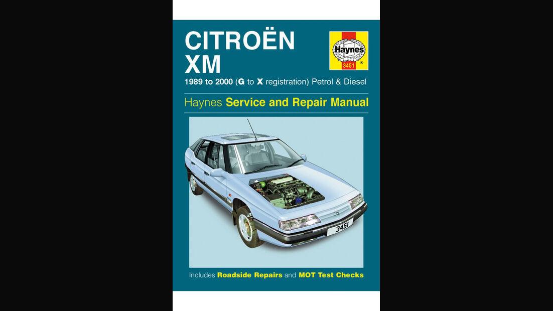 Citroën XM, Literatur