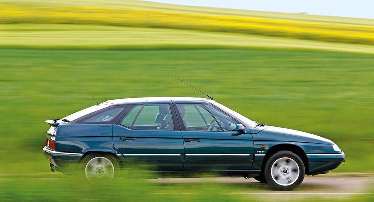 Citroën XM, Seitenansicht