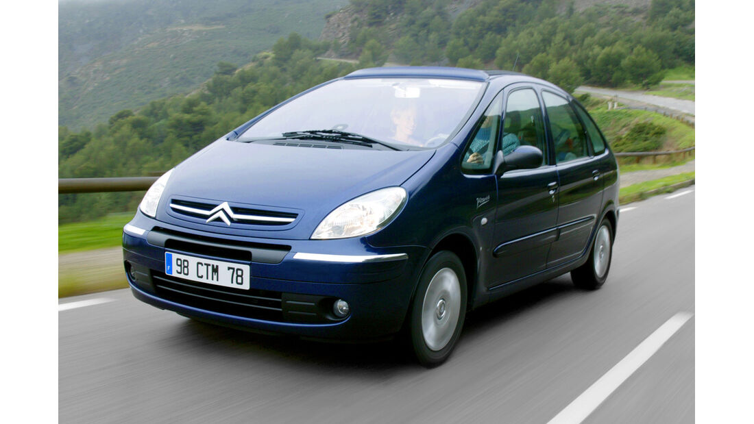 Citroën Xsara Picasso 1.6 , Frontansicht