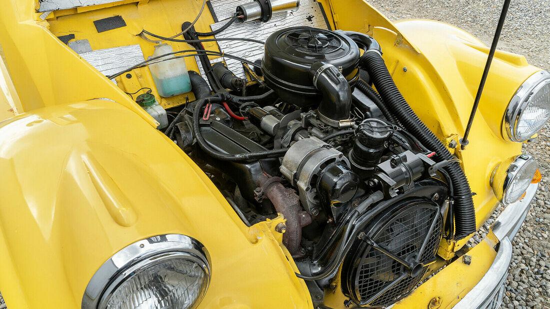 Citroen 2 CV 6 Jaguar Ente Roadster Umbau