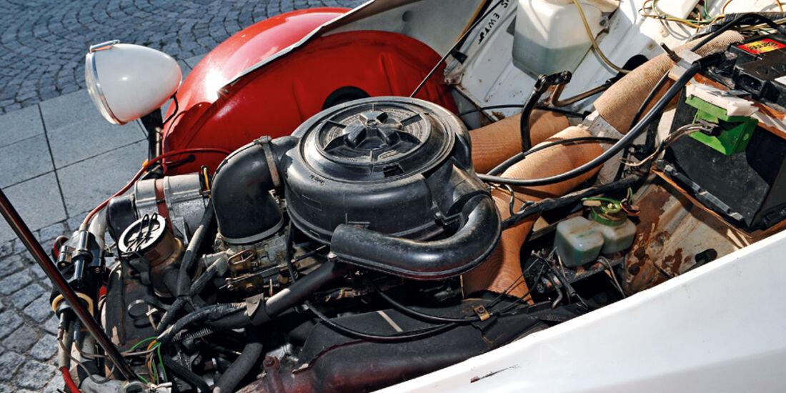 Citroen 2 CV 6, Motor