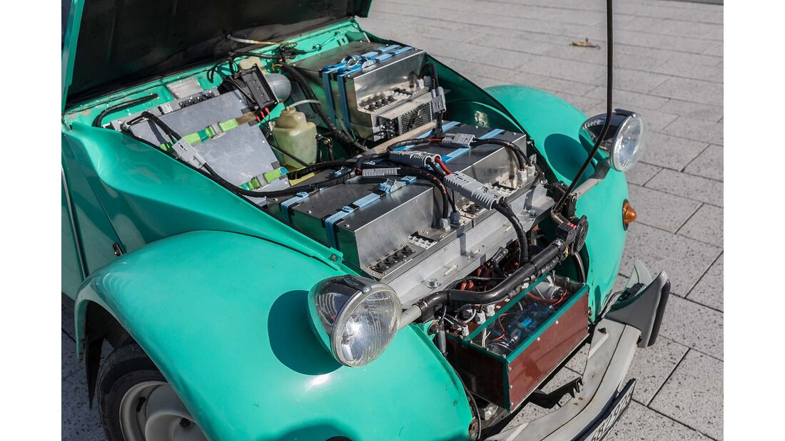 Citroen 2CV Ente elektrisch