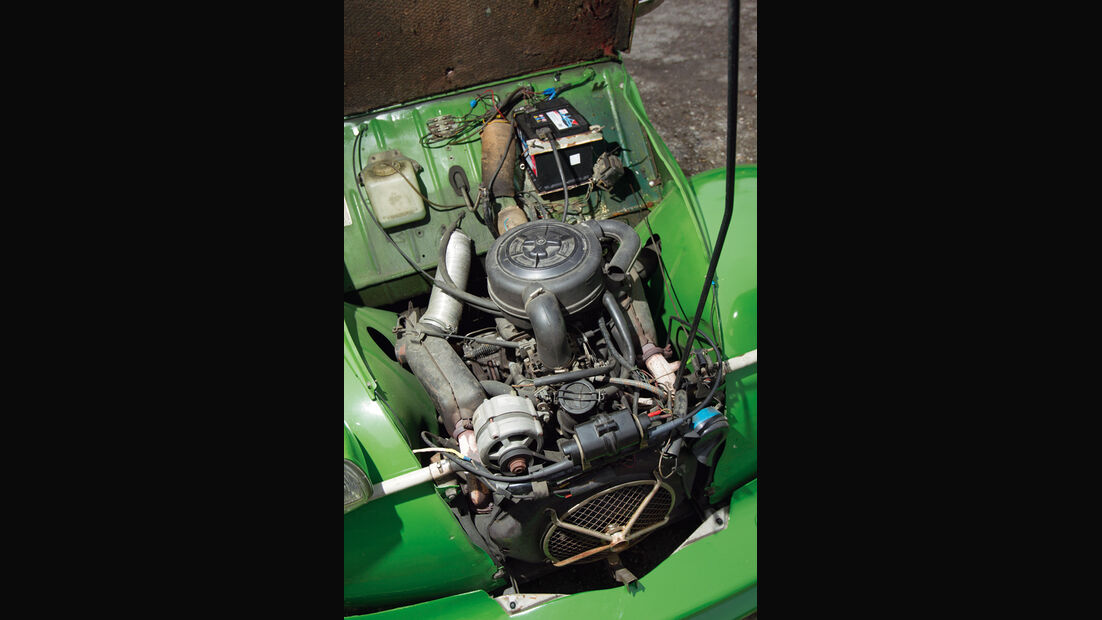 Citroen 2CV, Motor