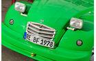 Citroen 2CV, Motorhaube