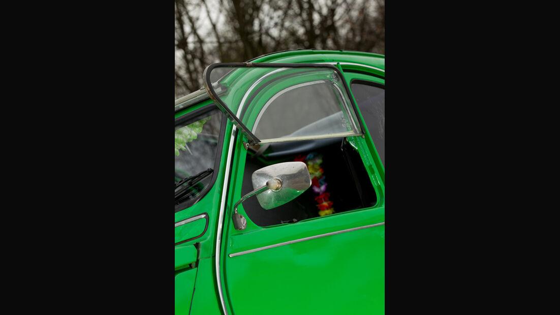 Citroen 2CV, Seitenfenster