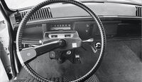 Citroen AMI 8, Lenkrad