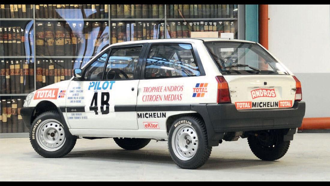 Citroen AX 4x4 Trophé Andros Citroen Médias (1993)