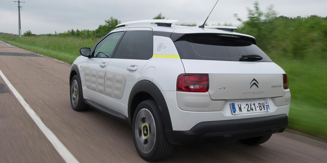 Citroen Advanced Comfort Fahrwerk Fahrbericht C4 Cactus 2017