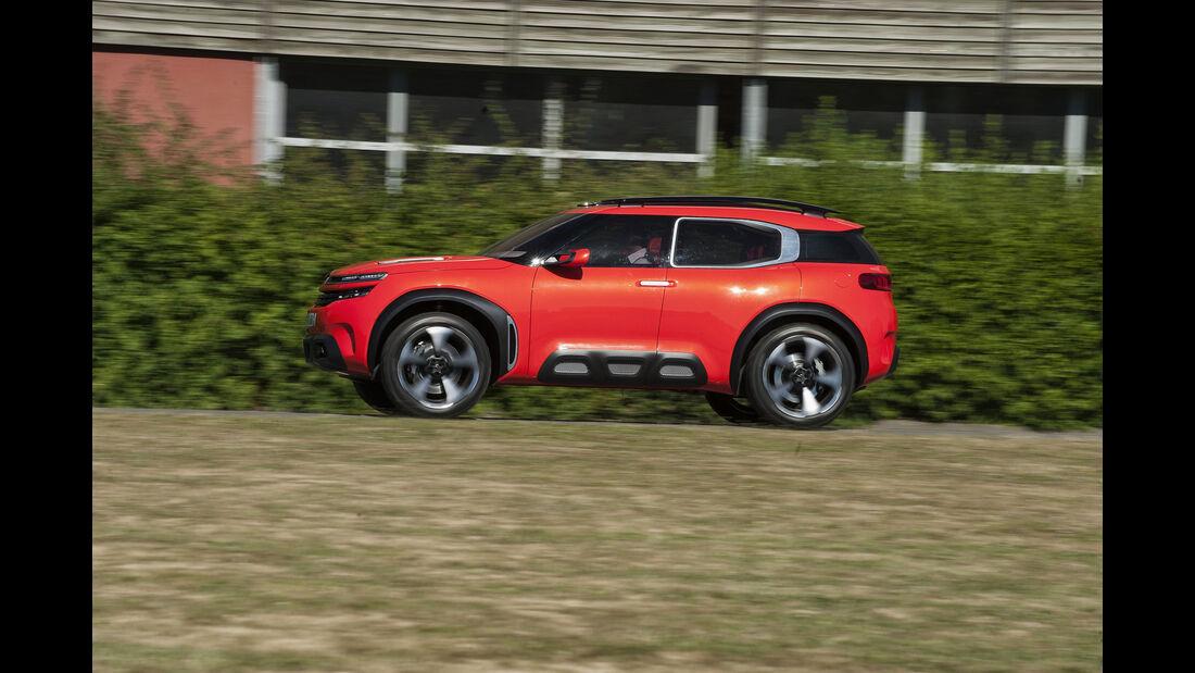 Citroen Aircross Concept, Fahraufnahme Seite
