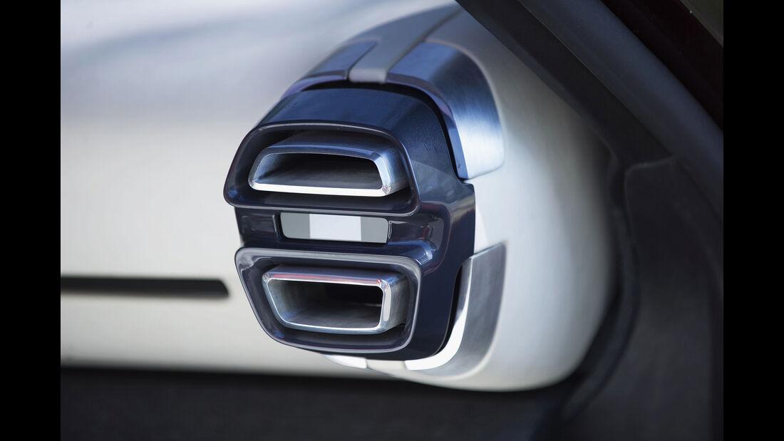 Citroen Aircross Concept, Interieur Details