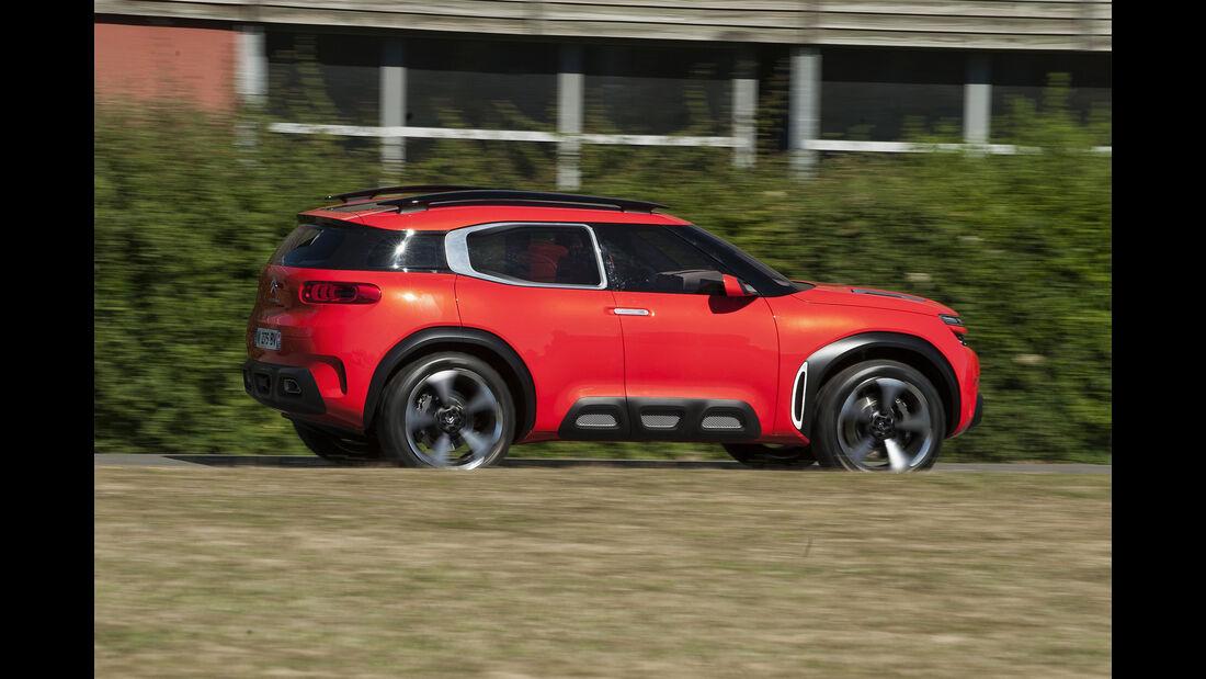 Citroen Aircross Concept, Seite