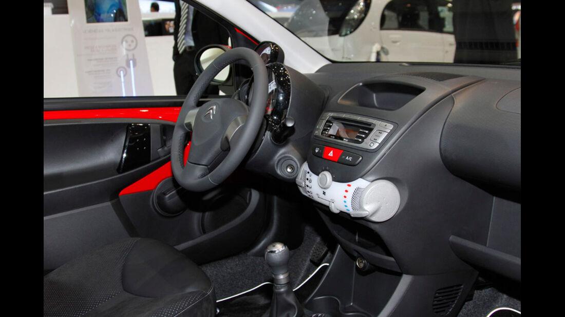 Citroen C1, Autosalon Genf 2012, Messe